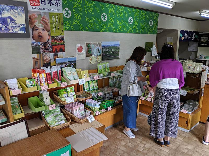 三ツ木園製茶 狭山茶製造販売 店舗