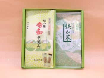 【暑中御見舞】上煎茶(100g)・ようかん詰合せ