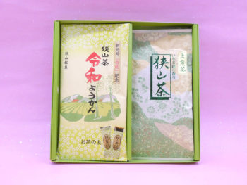 【御会葬御礼】上煎茶(100g)・ようかん詰合せ