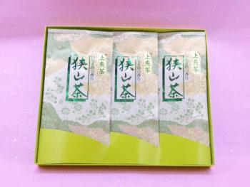 【御会葬御礼】上煎茶詰合せ(100g×3)